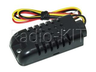 Датчик влажности и температуры цифровой емкостной AM2301