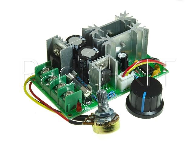 Регулятор PWM 1.2KW вращения двигателя постоянного тока PWMDC20 Модуль