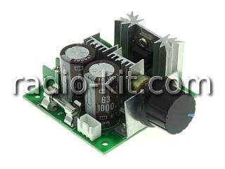 Регулятор PWM 0.3KW вращения двигателя постоянного тока PWMDC10 Модуль