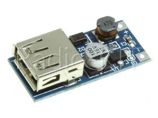 Преобразователь DC-DC повышающий USB выход Модуль