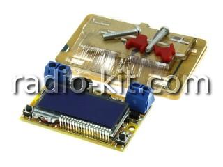 Преобразователь DC-DC понижающий c ЖКИ и цифровым управлением Модуль и корпус