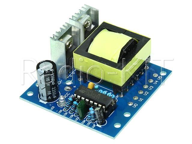 Преобразователь DC-AC повышающий инвертор DC12-AC220 150W Модуль