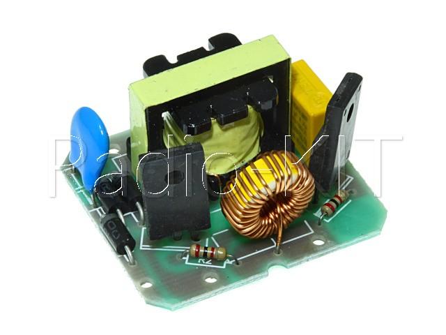 Преобразователь DC-AC повышающий инвертор DC12-AC220  40W Модуль