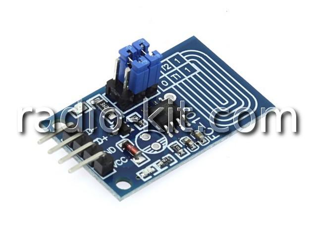 Сенсорная кнопка выключатель с диммированием для Ардуино FC-106 Модуль