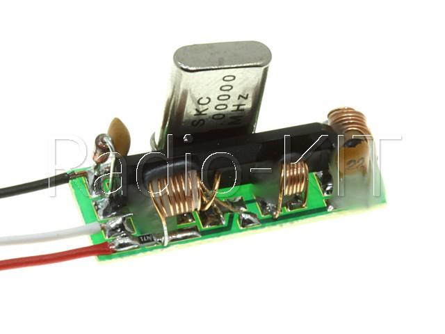 Конвертер FM-УКВ параллельного типа, с кварцем, модуль 3LAкв