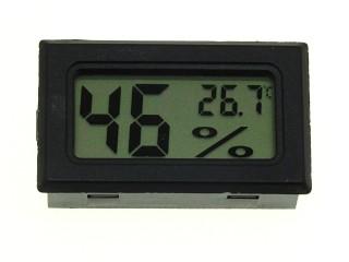 Термометр-гигрометр цифровой ЖКИ белый FY-11