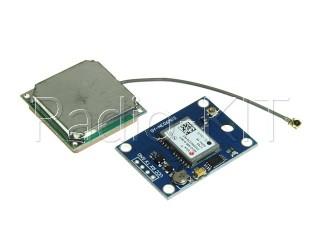GPS приемник GY-NEO6MV2 с антенной Модуль