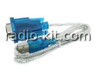 Преобразователь USB в RS232 на HL340 кабель