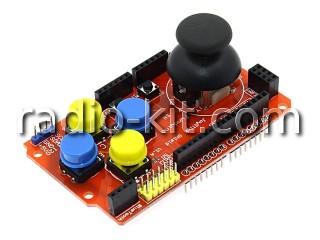 Джойстик с кнопками для Ардуино Joystick Shield Модуль