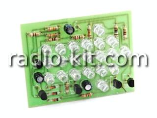 Green LED Pointing Arrow DIY KIT K120