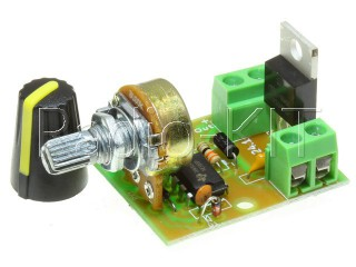 Регулятор PWM 0.3KW вращения двигателя постоянного тока M124.1 Модуль