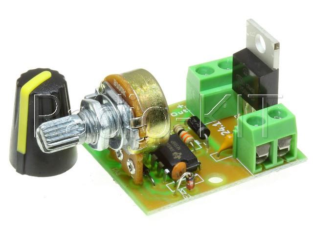 Регулятор PWM 0.3KW вращения двигателя постоянного тока K124.1 Набор