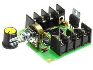Регулятор PWM 1.5KW вращения двигателя постоянного тока K124.2 Набор