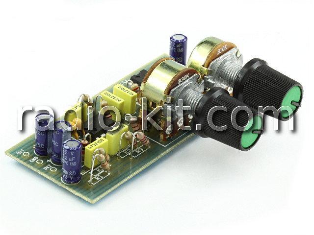 Активный фильтр сабвуфера K127 Набор
