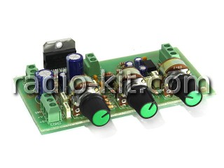 УНЧ 2х 30Вт на TDA7377 с темброблоком M160 Модуль