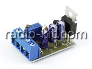 Стабилизатор напряжения регулируемый K212 Набор