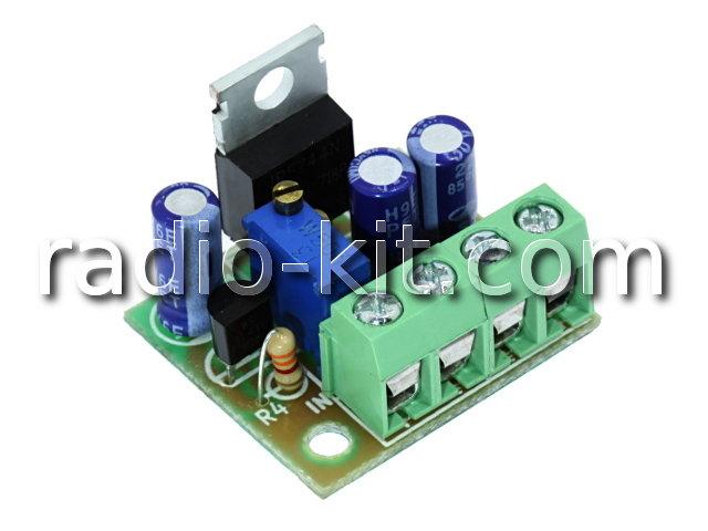 Стабилизатор напряжения регулируемый 3-27VDC/10A M212.1 Модуль
