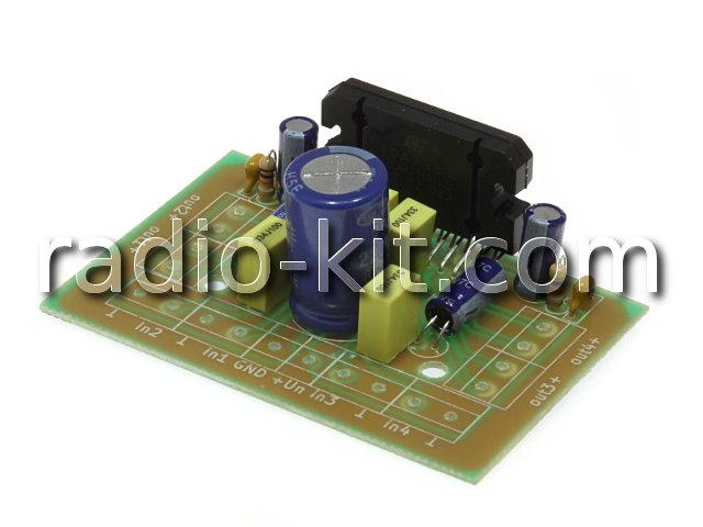 УНЧ 4х45Вт на TDA7388 M215.1G Модуль
