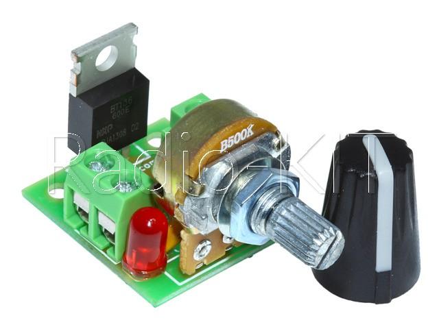 Регулятор мощности AC 220V 1kW 2 клеммника K216.1 Набор