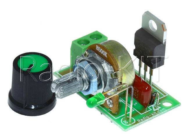 Регулятор мощности AC 220V 2kW 1 клеммник M216.2-2 Модуль