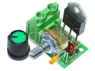 Регулятор мощности AC 220V 5kW 1 клеммник K216.2-5 Набор