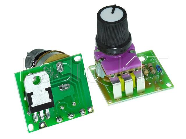 Регулятор мощности AC 220V 1kW вертикальный M216.6 Модуль