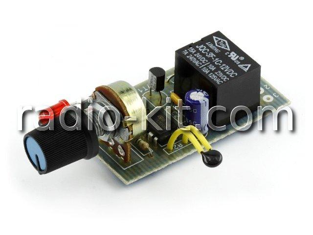 Терморегулятор аналоговый DC12V нагрева K223 Набор