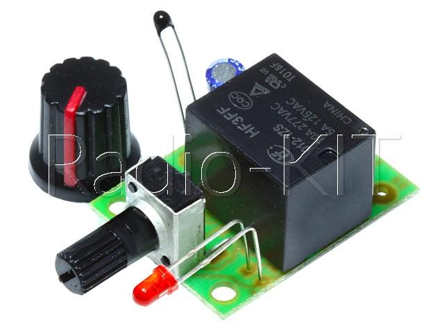 Терморегулятор аналоговый DC12V нагрева K223.1 Набор
