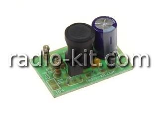 Преобразователь напряжения батарейки для LED фонаря K289 Набор