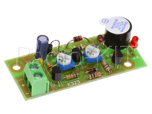 Сигнализатор разряда аккумулятора 24В K323-24 Набор