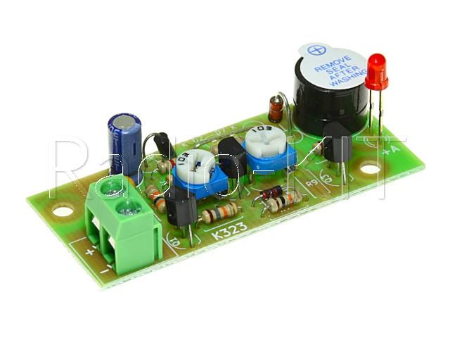 Сигнализатор разряда аккумулятора  6В M323-6 Модуль