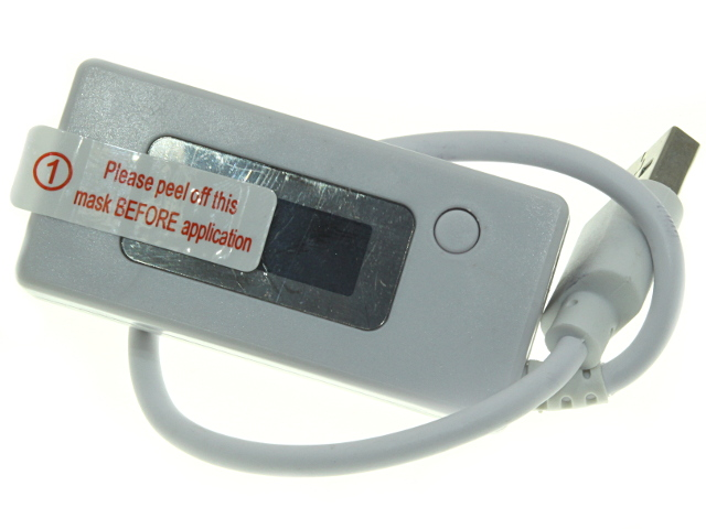 USB тестер с ЖКИ индикатором и шнуром KCX-017