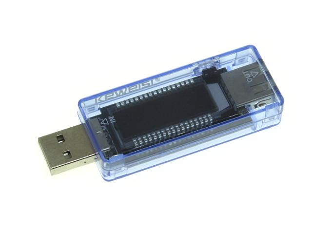USB тестер с ЖКИ индикатором KWS-V20