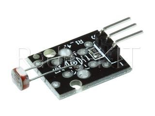 Датчик оптический освещенности фоторезистивный для Ардуино KY-018 Модуль