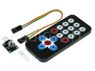 Датчик оптический ИК управления KY-022 (HW-477) с пультом для Arduino Модуль