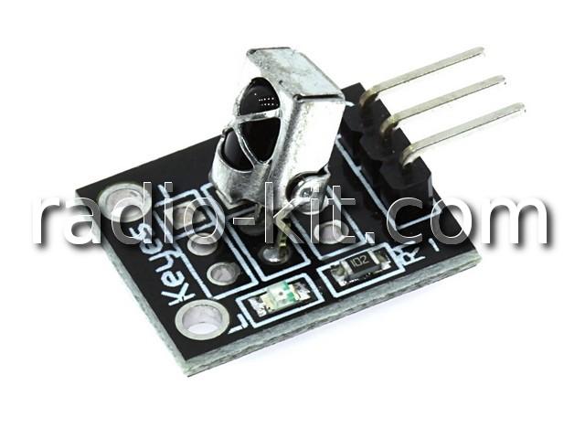 Датчик фотоприемник для Ардуино KY-022 Модуль