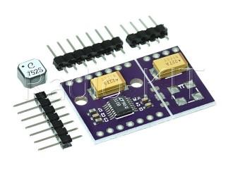 Преобразователь DC-DC повышающий на LTC3108 Модуль + трансформатор LPR6235(K=1:100)