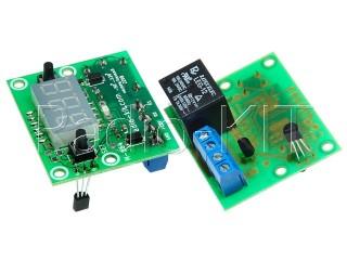 Терморегулятор цифровой DC12V индикатор 0,36'' M164 Модуль