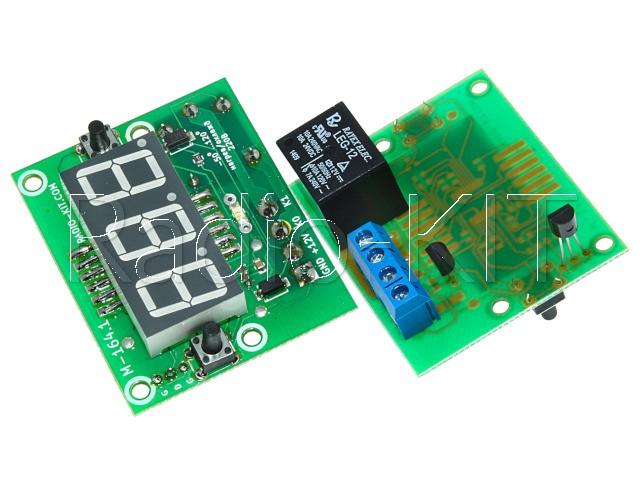 Терморегулятор цифровой DC12V индикатор 0,56'' M164.1 Модуль