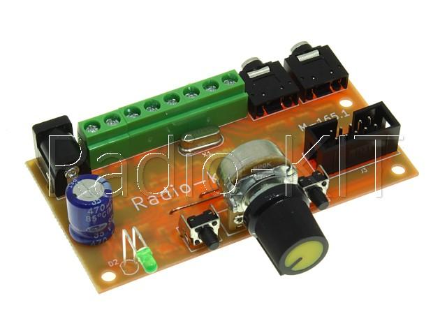 Цветомузыка для RGB ленты 6-ти канальная M165.1 Модуль