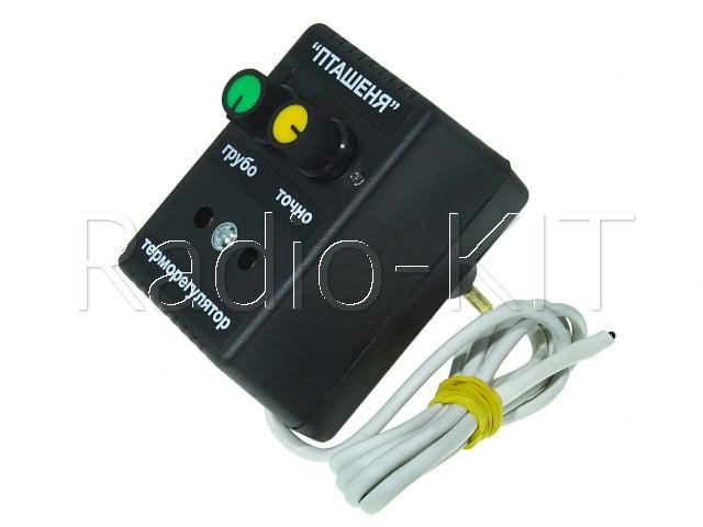 """Терморегулятор аналоговый AC220V для инкубатора """"Птенец"""" в розеточном корпусе"""