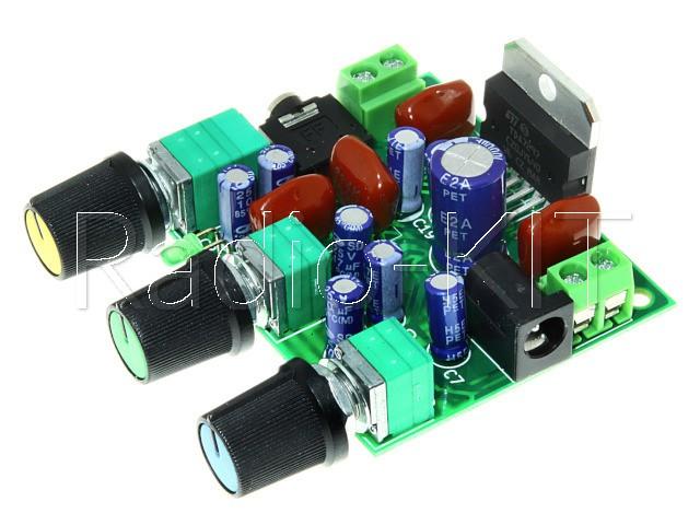 УНЧ 2х 15Вт на TDA7297 с темброблоком M193 Модуль