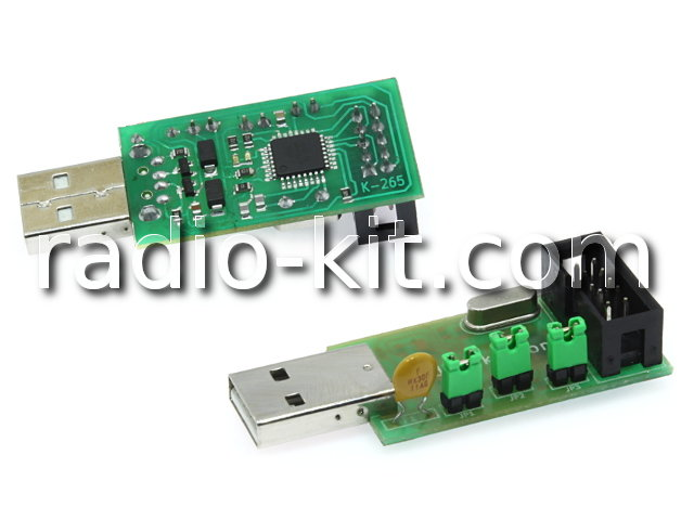 AVR  USB ISP Программатор M265 Модуль
