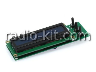 Частотомер 100Гц-100МГц с LCD дисплеем M269