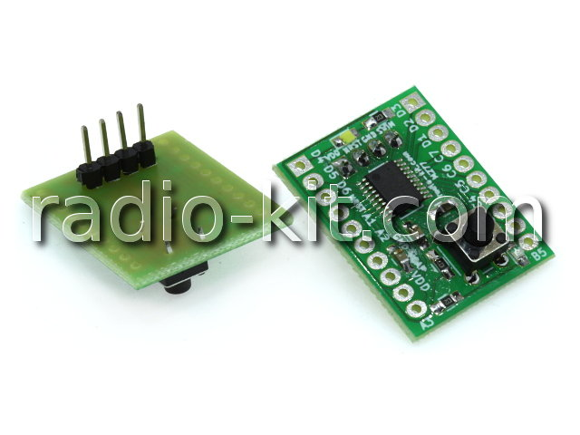 STM8S003 Demo Board M277 Модуль