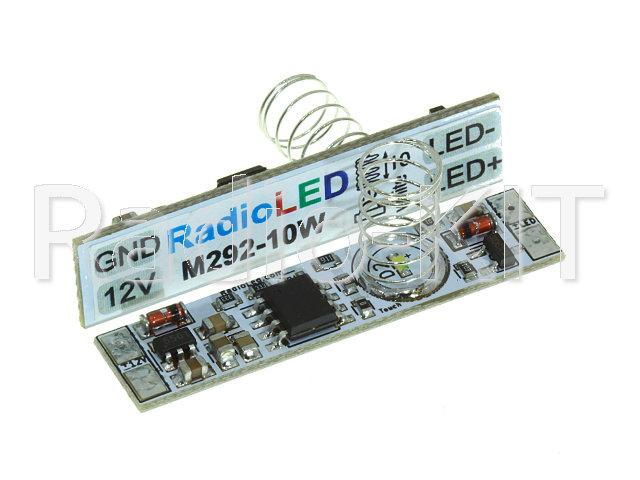 Сенсорный диммер для профиля I= 3A, пружина=10мм, белый светодиод M292-10(White)