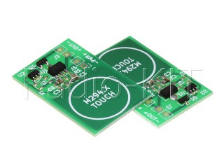 Сенсорная кнопка выключатель  без фиксации 2-5В/100мА TouchPad M294.3 Модуль