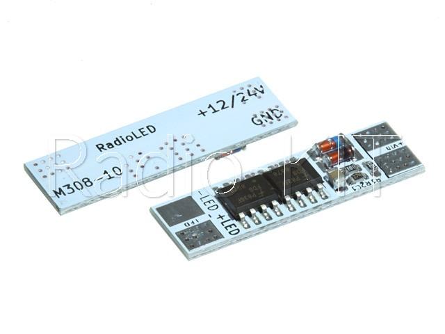 Модуль плавного включения светодиодной ленты 10А 12/24В M308.1-10
