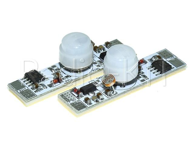 PIR сенсор для профиля I=5A, M320.2F с фотоэлементом с плавным включением