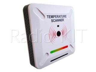 Полуавтоматический бесконтактный сканер превышения температуры RK347